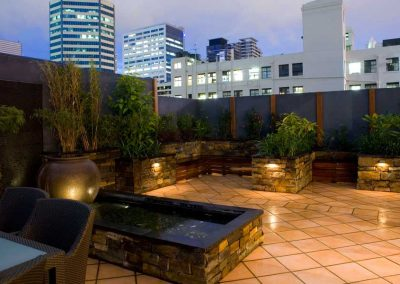 Roof Top Landscape Garden