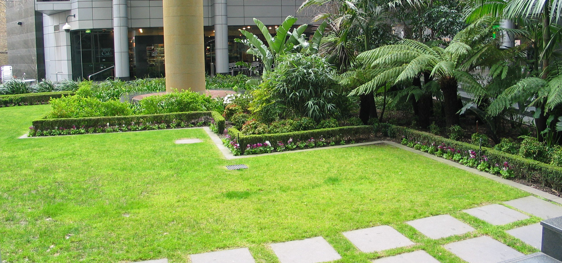 corporate landscape spaces