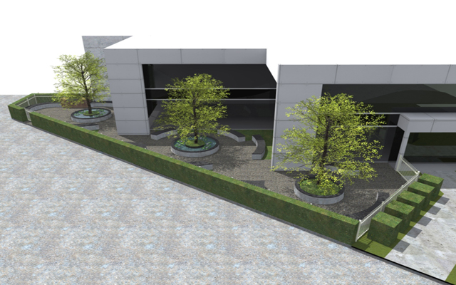 corporate landscape design