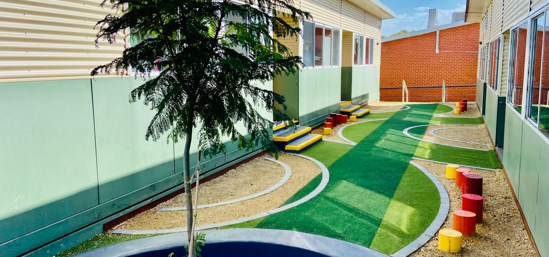 school landscape design on budget