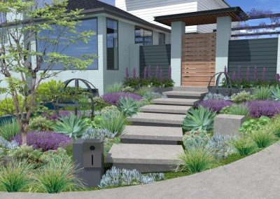 Entrance Landscape Design