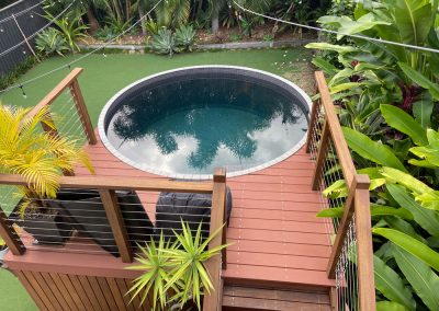 Plunge Pool Construction