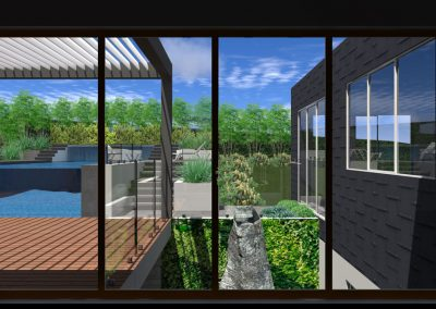Garden and Pool landscape designs