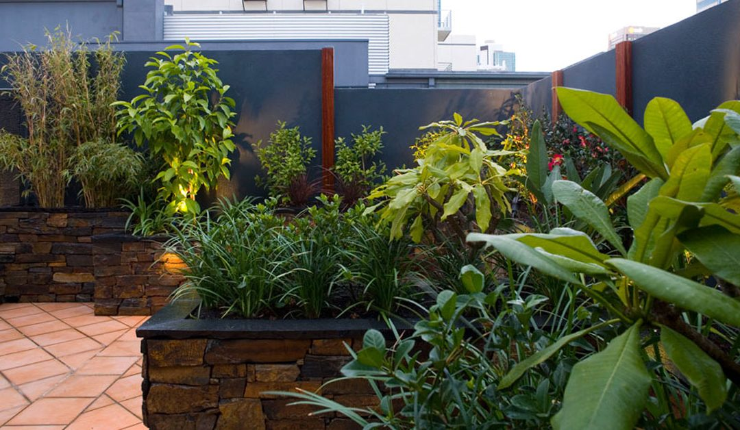 no wasted space in landscape design
