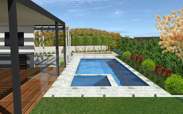 melbourne plunge pool designers outdoor creations