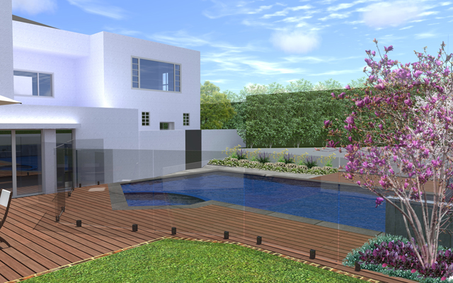 award winning melbourne landscape design including pool outdoor creations