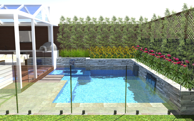 cheap swimming pool designs from outdoor creations melbourne