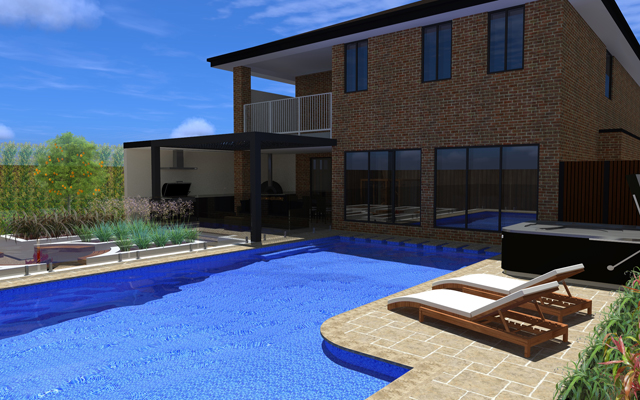grand 3d swimming pool design melbourne